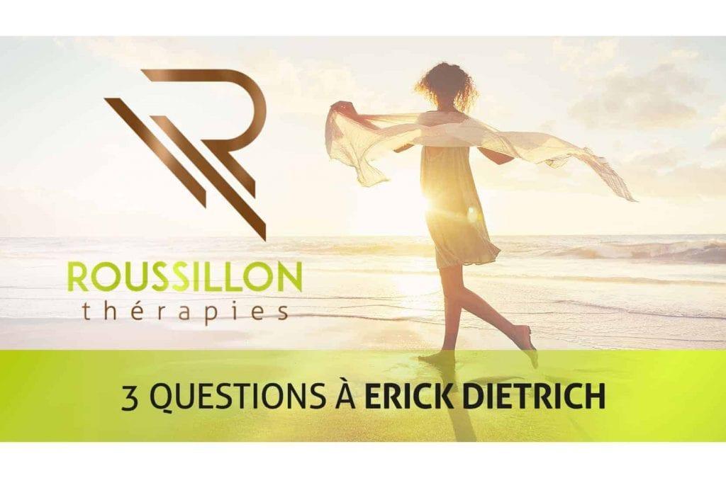 Trois questions à Erick DIETRICH